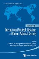International Strategic Relations And China's National Security: Pdf/ePub eBook