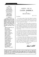 An Introduction to the Contemporary History of Latin America