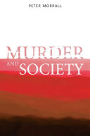 Murder and Society Pdf/ePub eBook