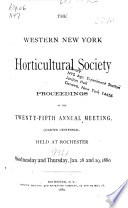 Proceedings of the 1st  Annual Meeting  1855  Book