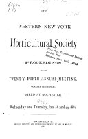 Proceedings of the 1st  Annual Meeting  1855