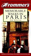 Frommer s Memorable Walks in Paris
