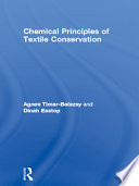 Chemical Principles Of Textile Conservation Book PDF