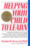 Helping Your Child to Learn