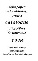 Newspaper Microfilming Project  Catalogue