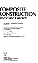 Composite Construction in Steel and Concrete