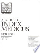 Abridged Index Medicus