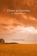 Pdf Home in America