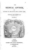 Pdf The Medical Adviser, and Guide to Health and Long Life
