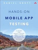 Hands On Mobile App Testing