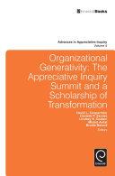 Organizational Generativity