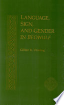 Language  Sign  and Gender in Beowulf