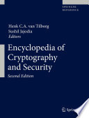 Encyclopedia of Cryptography and Security