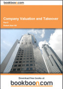 Company Valuation and Takeover