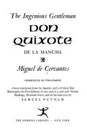 The Ingenious Gentleman Don Quixote de la Mancha