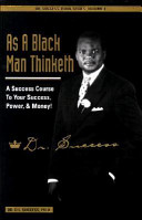 As a Black Man Thinketh