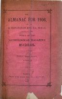 The Almanac For 1906
