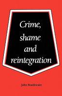 Pdf Crime, Shame and Reintegration