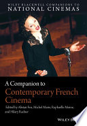 A Companion to Contemporary French Cinema
