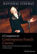Pdf A Companion to Contemporary French Cinema Telecharger