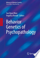 Behavior Genetics of Psychopathology Book