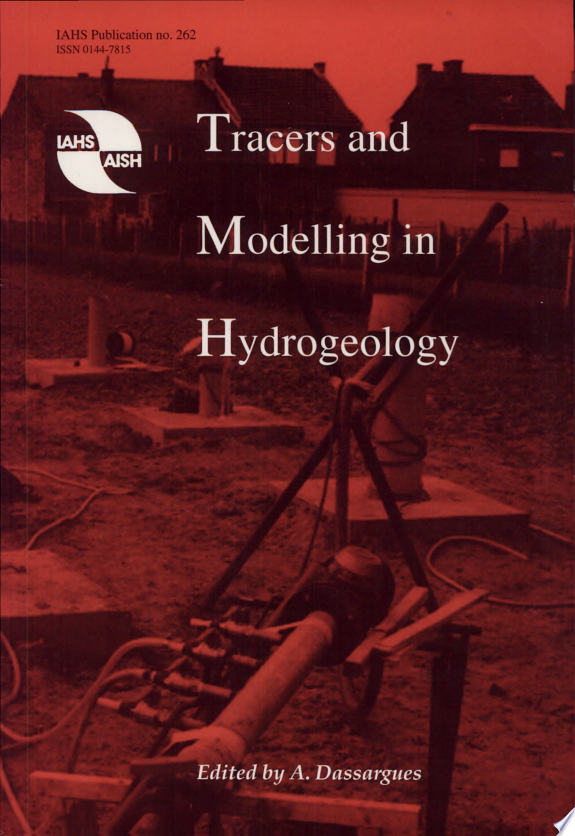 Tracers and Modelling in Hydrogeology