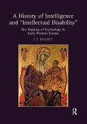 A History of Intelligence and 'Intellectual Disability' Pdf/ePub eBook