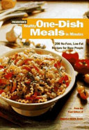 Prevention s Healthy One dish Meals in Minutes
