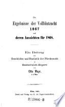 """""""Die"""" Ergebnisse der Vollblutzucht 1867 und deren Aussichten für 1868"""