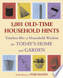 1 001 Old Time Household Hints Book
