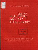 Touring Artists Directory Performing Arts Touring And Presenting Program