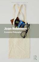 Economic Philosophy Pdf/ePub eBook