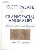 Cover of Cleft Palate and Craniofacial Anomalies