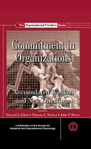 Pdf Commitment in Organizations Telecharger