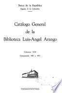 Catálogo general de la Biblioteca Luis-Angel Arango