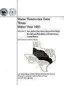 Water Resources Data