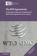 Cover of The WTO Agreements