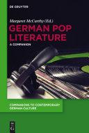 German Pop Literature