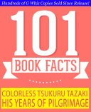 Colorless Tsukuru Tazaki and His Years of Pilgrimage - 101 Amazing Facts You Didn't Know