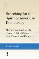 Searching for the Spirit of American Democracy [Pdf/ePub] eBook
