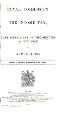Minutes of Evidence with Appendices