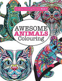 Gorgeous Colouring for Girls   Awesome Animals Colouring