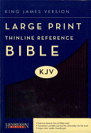 Large Print Thinline Reference Bible KJV