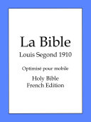 La Bible, Louis Segond 1910 Pdf/ePub eBook