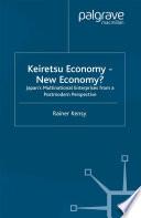Keiretsu Economy   New Economy  Book