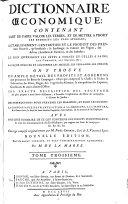 Dictionnaire oeconomique ... de conserver sa sante. Nouv. ed. corrigee et augmentee par M. de la Marre