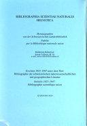 Bibliographia scientiae naturalis Helvetica