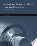 Strategies of Banks and Other Financial Institutions Book