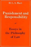 punishment and responsibility essays in the philosophy of law   responsibility punishment and responsibility