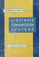 Introduction To Lightwave Communication Systems Book PDF